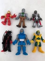 Bonecos Super Heróis Imaginext e Super Hero Adventure