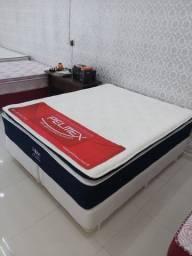 Título do anúncio: queen queen -cama cama de luxo -promoção de fabrica !!!