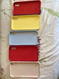 Capas para iPhone XR semi novas