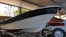 Barco de fibra 5m NOVO - 2017