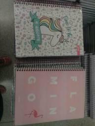 Caderno 10 matérias