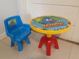 Mesa infantil galinha pintadinha