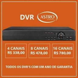 Dvr HD ou Full HD 5 em 1 de 4 Canais, 8 Canais ou 16 Canais Acesse pelo celular Temos Hd's