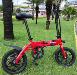 Bicicleta Elétrica Dobrável Aest Mini/ 14kg/ Lítio/ 16 comprar usado  Matão