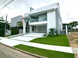 Linda Mansão duplex nova no Alphaville Fortaleza com 450m, 5 suítes e 5 vagas