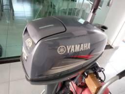 Motor de popa 15hp Yamaha 2010 impecável. * - 2010