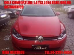 Golf Comfortline 1.4 tsi,automático,2014, Muito novo , aceito troca e financio - 2014