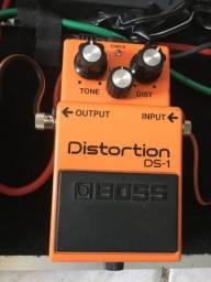Pedal de distorção DS1 BOSS: vendo ou avalio troca em outro pedal