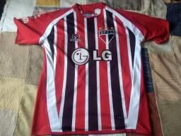 Camisa de futebol são paulo LG libertadores