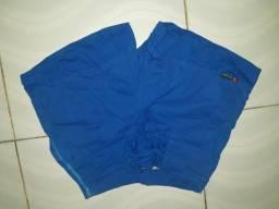 Short Azul Cintura Alta