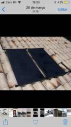 Placa aquecer solar de baixo custo