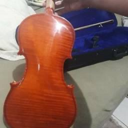 Violino 4/4 seminovo com acessórios