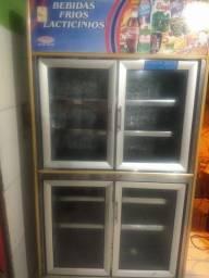 Freezer expositor inox