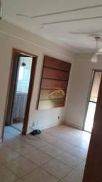 Apartamento com 2 dormitórios para alugar, 54 m² por R$ 800,00/mês - Parque dos Bandeirant