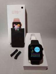 Relógio U78 Plus Smartwatch Gps + Brinde