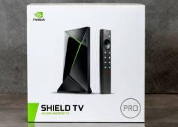 Nvidia Shield TV Pro HDR 4K, Zero e Lacrado, Versão 2019, Android TV, Tegra X1+