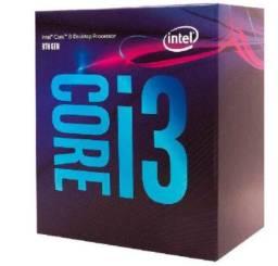 Kit core i3 8100 + placa mãe gigabyte