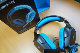 Headset Gamer - Fone de ouvido   Logitech G430