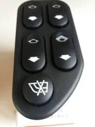 Cnj de botão para vidros elétricos novos