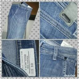 Calça jeans original Diesel veste 10/12 anos