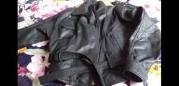 Barbada jaqueta couro feminina 150 reais
