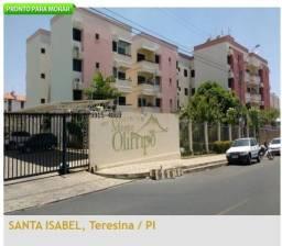 Apartamento a Venda Condomínio Monte Olimpo, Santa Isabel, Teresina-PÍ