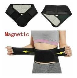 Cinta lombar magnética terapia para nervo ciático, hérnia de disco e lombalgia