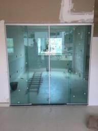 Portas,janelas,box blindex escadas em vidro temperado