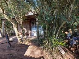 Velleda of sitio arborizado 1km asfalto, casa e galpão, ac troca por maior