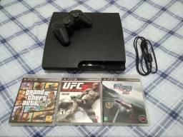 Playstation 3 slim 160 GB LEIAM A DESCRIÇÃO