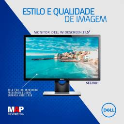 "Monitor Dell 21,5"" full HD widescreen (novo)"