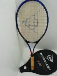 Raquete de ténis Dunlop power flex extra, long