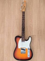 Telecaster Tagima Antiga ainda com o Head estilo Fender da Época do Seizi