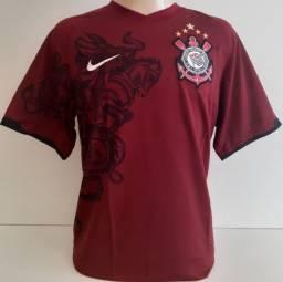 Camisa do Corinthians Grená Campeão Brasileiro de 2011 original 100% Nike