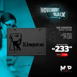 Ssd kingston 120gb a400 novo
