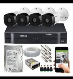 Título do anúncio: Câmeras alarmes cercas motores