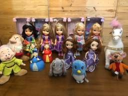 Vendo Lote de Personagens Princesas Disney