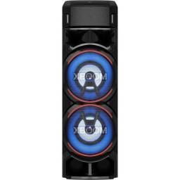 Caixa Acústica LG Xboom Rn9 Multi Bluetooth Super Graves Entrada de Microfone e Guitarra
