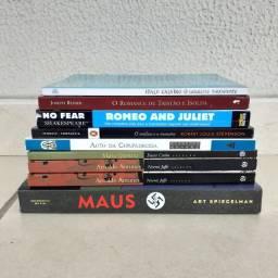 9 livros escolares
