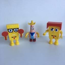Boneco Bob esponja e Patrik