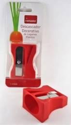 R$4,90 - Descascador Decorativo Apontador De Legumes Frutas Plástico