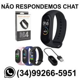 Pulseira Inteligente Relógio Smart M4 - Troca Pulseira - Fazemos Entregas