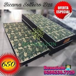 Título do anúncio: Bicama Solteiro Espuma D28// OFERTA ESPECIAL