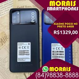 (Oferta Exclusiva) Xiaomi Poco M3 64Gb Preto (Bateria 6.000 Mil Amperes)