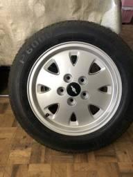 Rodas originais do opala diplomata 1992 restauradas em perfeito estado !