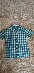 Camisa de botão - kids