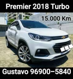 Tracker 2018 Premier 15.000 Km Igual a zero garantia de 1 ano!!!