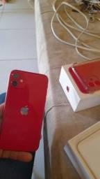 Título do anúncio: iPhone 11 Red
