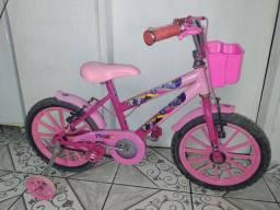 Bicicleta Feminina Infantil Aro 16.