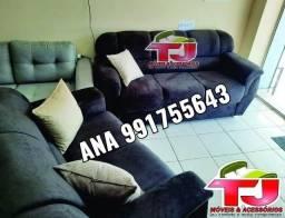 Sofás Confortáveis  Disponíveis em 6 cores diferentes=